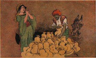 Ali Baba Og De Fyrretyve Røvere Fra 1001 Nats Eventyr